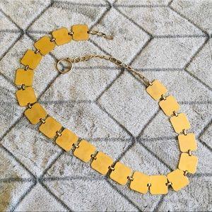 Gold Square Chain Belt